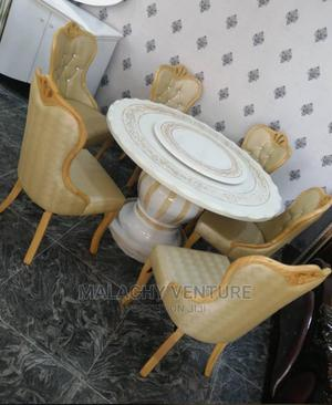 Royal Marble Round Dining Table | Furniture for sale in Lagos State, Ajah