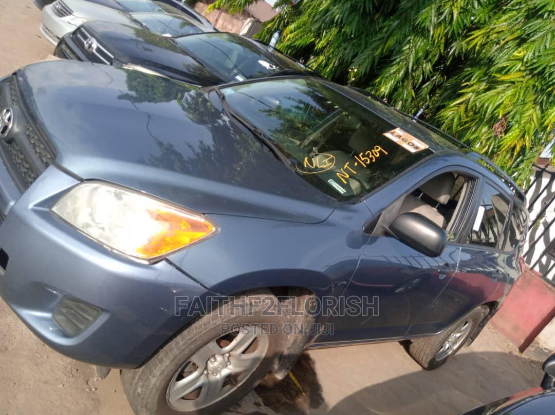 Toyota RAV4 2010 2.5 4x4 Blue | Cars for sale in Ikeja, Lagos State, Nigeria