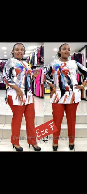 Elegant Classic Trendy Female Quality 2piece Trouser and Top | Clothing for sale in Lagos State, Ikeja