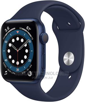 Apple Iwatch SERIES 6 44MM GPS Only - Blue | Smart Watches & Trackers for sale in Lagos State, Ikeja