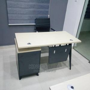 Simple Office Table With Office Chair | Furniture for sale in Lagos State, Victoria Island