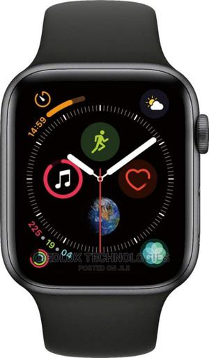 Iwatch Series 6 44mm Gps+ Cell Black   Smart Watches & Trackers for sale in Lagos State, Ikeja