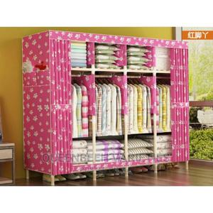 Durable Mobile Wooden Wardrobe 205*45*170cm   Furniture for sale in Lagos State, Alimosho