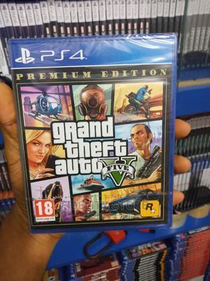 Ps4 GTA v Grand Theft Auto V | Video Games for sale in Lagos State, Ikeja