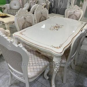 Cream Royal Wooden Dinning Table | Furniture for sale in Lagos State, Lekki