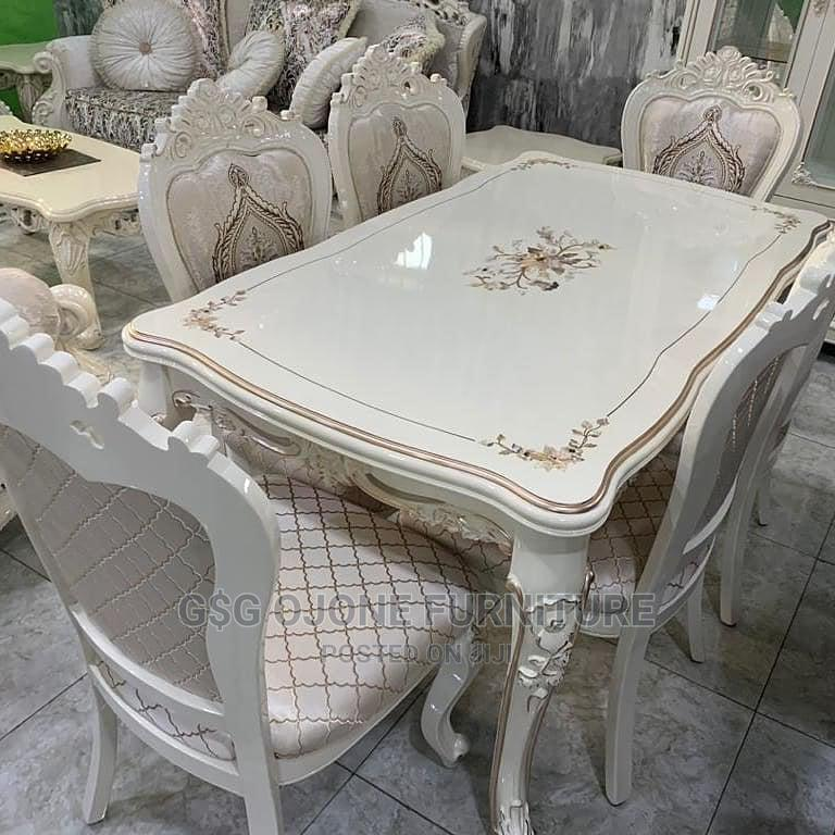 Cream Royal Wooden Dinning Table