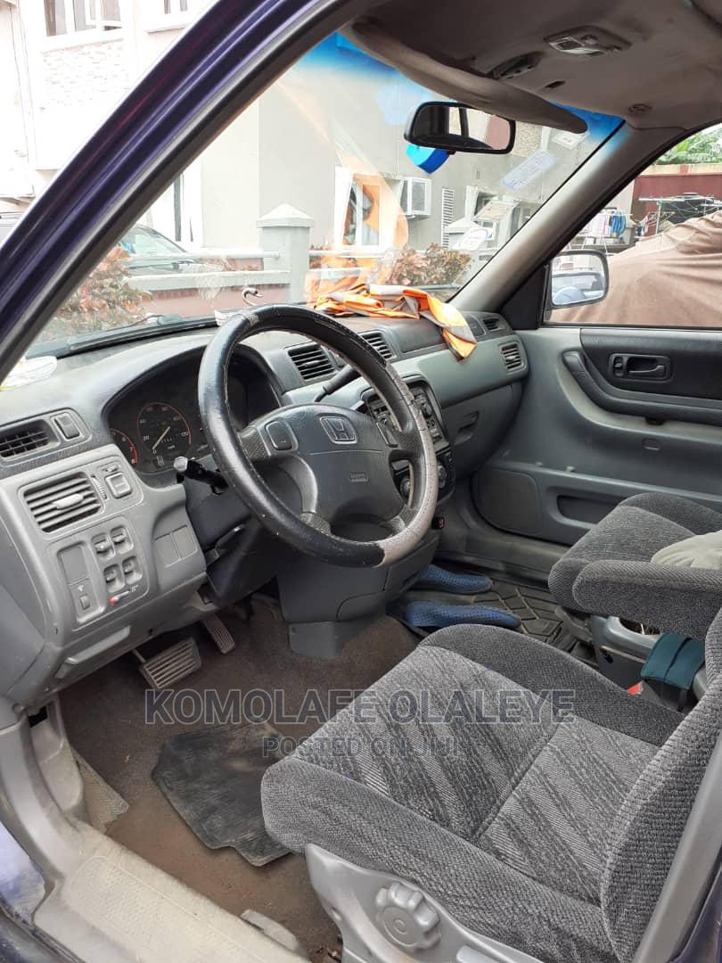 Archive: Honda CR-V 1997 2.0 Automatic Blue