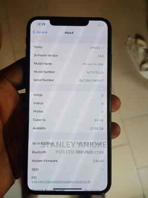 Apple iPhone XS Max 64 GB Black | Mobile Phones for sale in Lagos State, Isolo