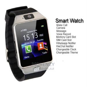 Dz09 Smartwatch - Supports Sim Card Memory Card | Smart Watches & Trackers for sale in Lagos State, Alimosho