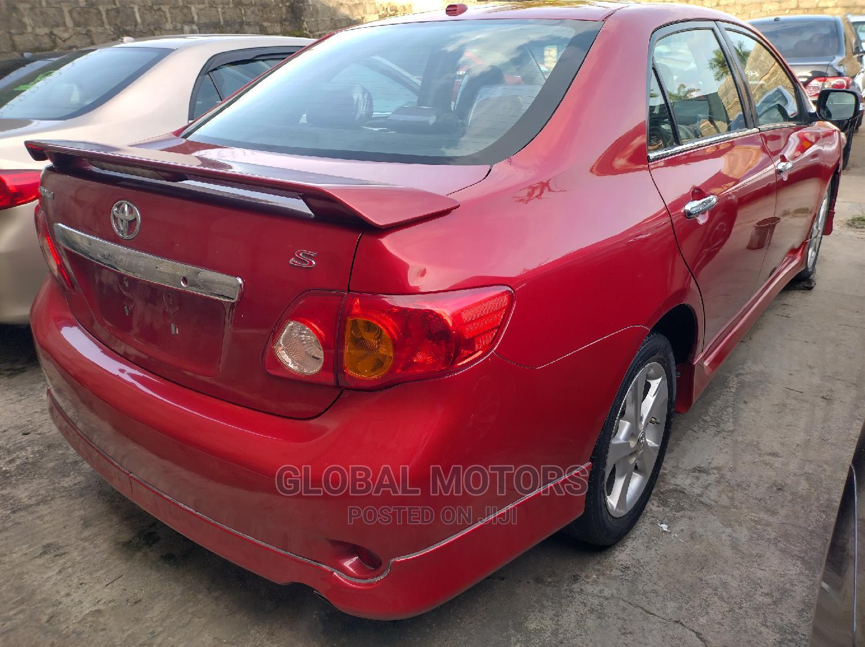 Toyota Corolla 2011 Red   Cars for sale in Victoria Island, Lagos State, Nigeria