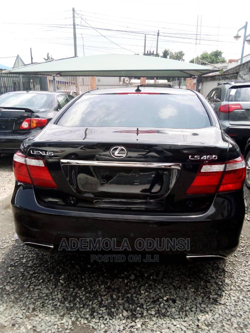 Lexus LS 2008 460 Black   Cars for sale in Ikeja, Lagos State, Nigeria
