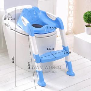 Foldable Babies and Children Potty Training Seat With Ladder | Children's Gear & Safety for sale in Lagos State, Lagos Island (Eko)