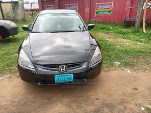 Honda Accord 2004 2.4 Type S Black   Cars for sale in Akwa Ibom State, Uyo