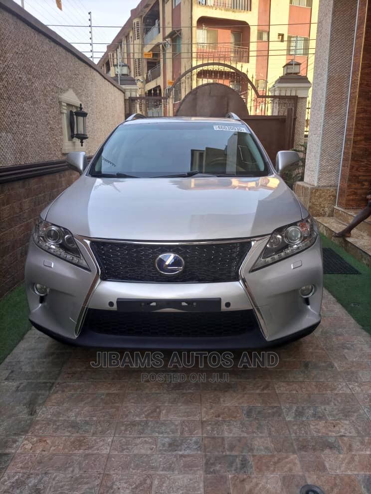 Lexus RX 2010 350 Silver