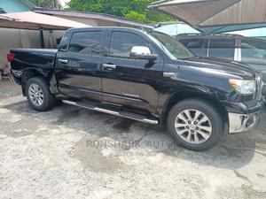 Toyota Tundra 2012 CrewMax 4x4 Limited Black | Cars for sale in Lagos State, Isolo