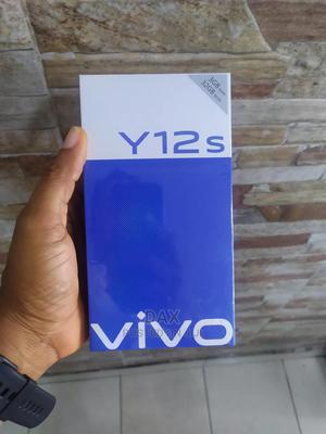 New Vivo Y12s 32 GB Blue   Mobile Phones for sale in Lagos State, Victoria Island
