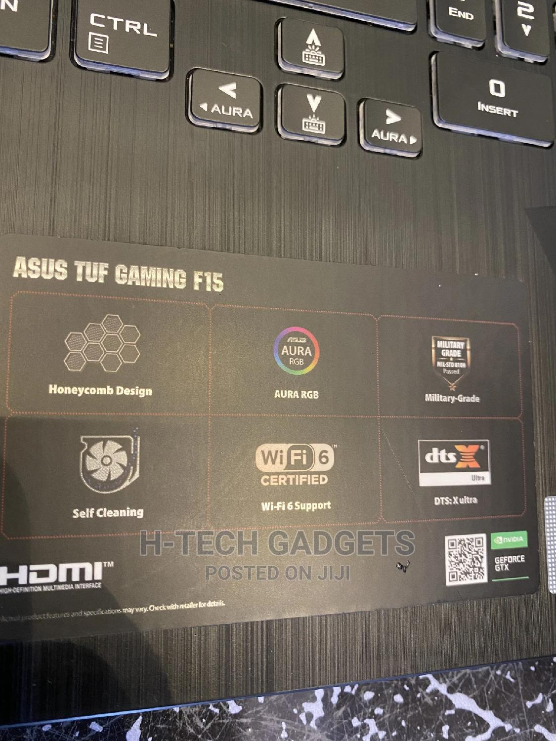 Laptop Asus TUF Gaming FX504 8GB Intel Core I5 SSD 512GB   Laptops & Computers for sale in Ikeja, Lagos State, Nigeria