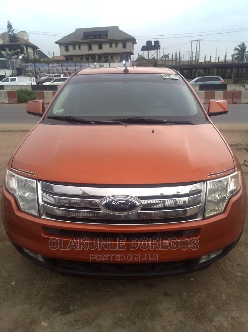 Ford Edge 2007 SE 4dr FWD (3.5L 6cyl 6A) Orange
