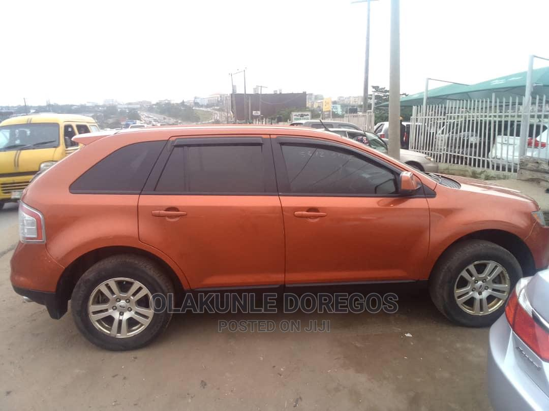 Ford Edge 2007 SE 4dr FWD (3.5L 6cyl 6A) Orange   Cars for sale in Ikeja, Lagos State, Nigeria