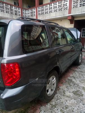 Honda Pilot 2003 EX-L 4x4 (3.5L 6cyl 5A) Gray | Cars for sale in Rivers State, Port-Harcourt