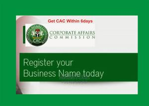 Get Cac Certificate Within 6days and Bn Number | Legal Services for sale in Bayelsa State, Ogbia