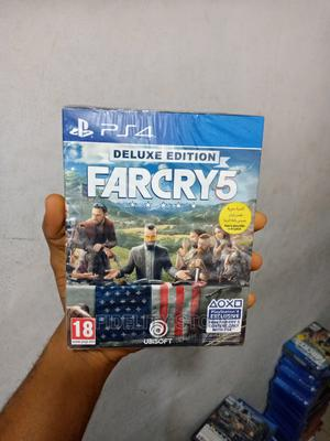 Ps4 Deluxe Edition Farcry 5 | Video Games for sale in Lagos State, Ikeja