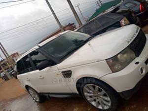 Land Rover Range Rover Sport 2008 4.2 V8 SC White | Cars for sale in Lagos State, Ikorodu