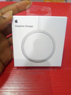 Original Apple Wireless Magsafe Charger   Accessories for Mobile Phones & Tablets for sale in Lagos State, Ikeja