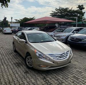 Hyundai Sonata 2011 Gold   Cars for sale in Lagos State, Magodo