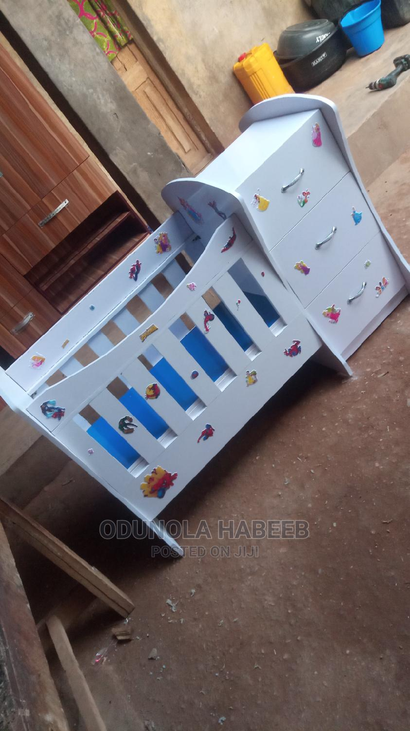 Baby Cot With Baby Bed