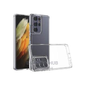 Back Case for Samsung S21 Ultra + Free Tempered Glass | Accessories for Mobile Phones & Tablets for sale in Lagos State, Ikeja