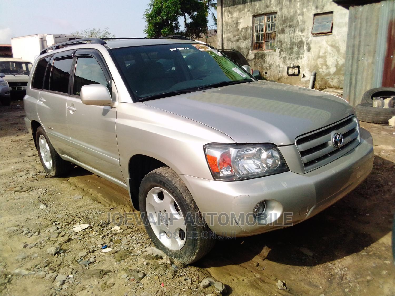 Archive: Toyota Highlander 2006 Silver