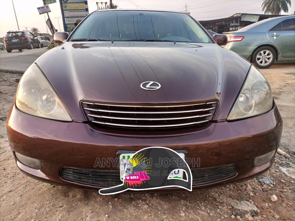 Lexus ES 2004 330 Sedan Brown
