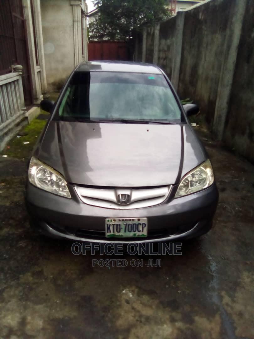 Archive: Honda Civic 2005 Sedan LX Gray