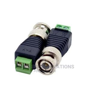 BNC Male Connector Coax CAT6 to Camera CCTV UTP Balun 100pcs   Accessories & Supplies for Electronics for sale in Lagos State, Yaba