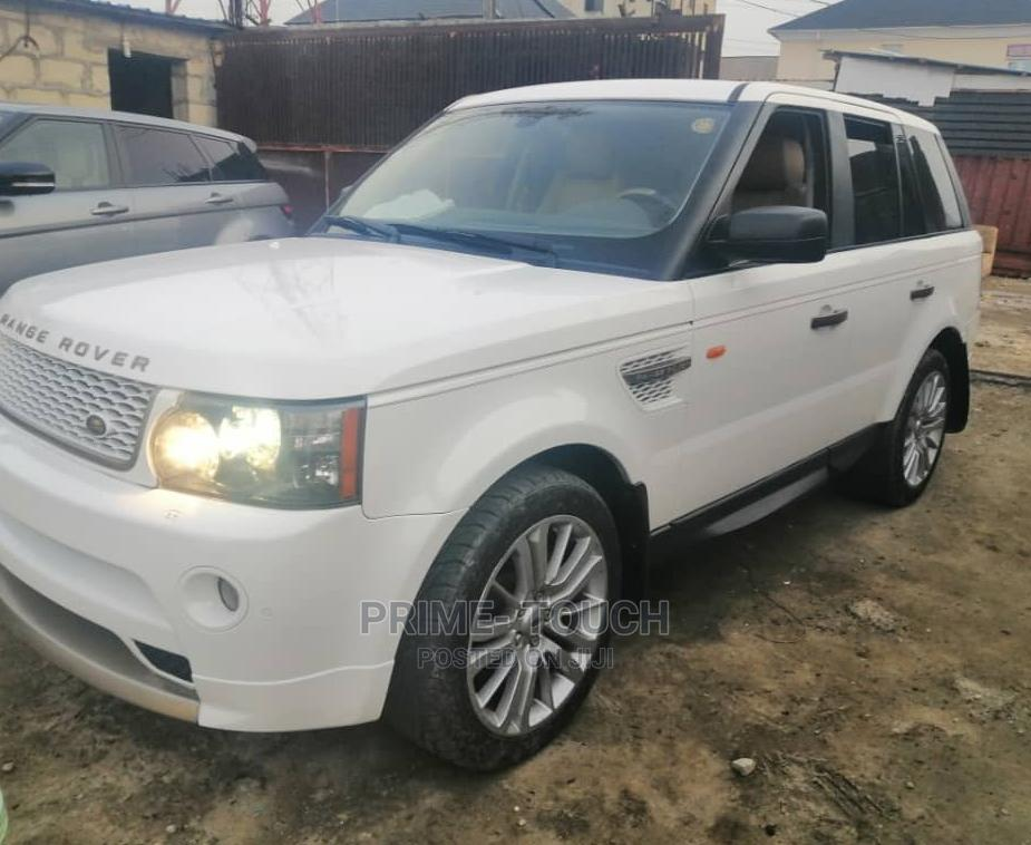 Land Rover Range Rover Sport 2012 HSE 4x4 (5.0L 8cyl 6A) White
