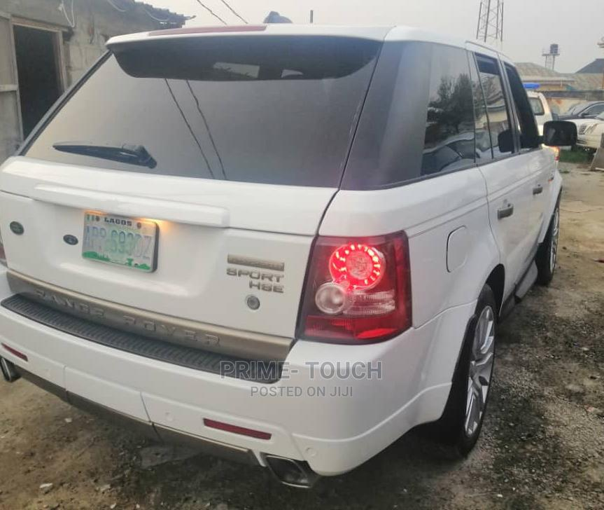Land Rover Range Rover Sport 2012 HSE 4x4 (5.0L 8cyl 6A) White   Cars for sale in Surulere, Lagos State, Nigeria