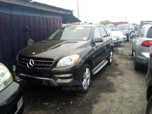 Mercedes-Benz M Class 2013 ML 350 4Matic Gray | Cars for sale in Lagos State, Apapa