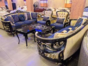 Royal Turkish Royal Sofa Chairs by Seven Seater   Furniture for sale in Lagos State, Magodo