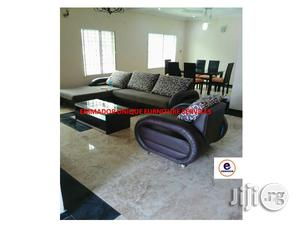 L- Shaped Sofa With Single Sofa   Furniture for sale in Lagos State, Ikeja