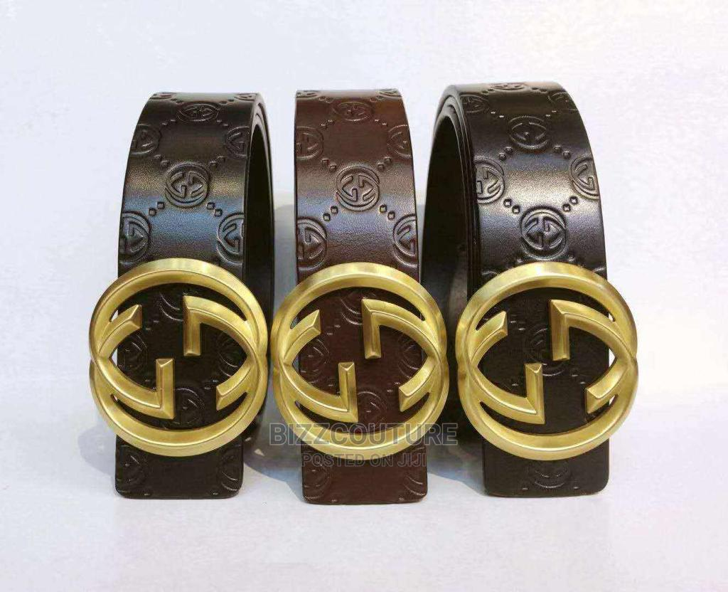 High Quality Gucci Black Leather Belts Available for Sale