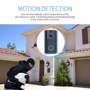 Motion Detection Wireless Video Doorbell | Security & Surveillance for sale in Lagos State, Ikeja