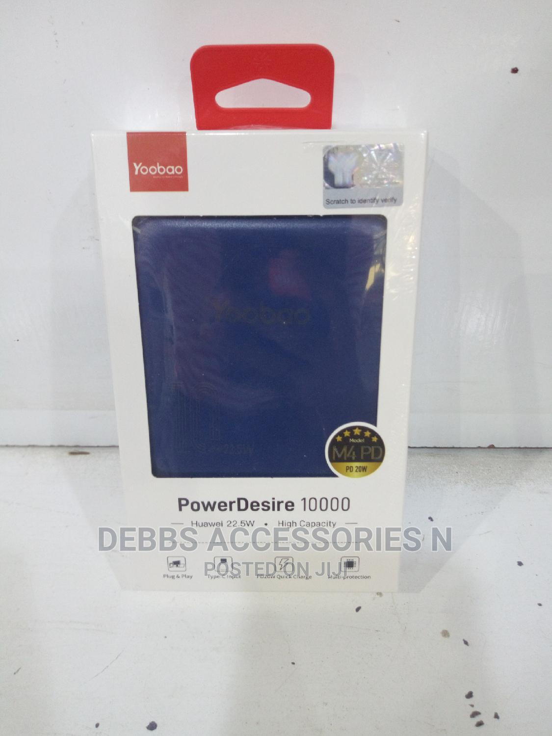Yoobao 10000mah Power Bank   Accessories for Mobile Phones & Tablets for sale in Ikeja, Lagos State, Nigeria