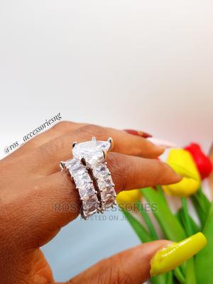 Zirconia Wedding Ring Set | Wedding Wear & Accessories for sale in Delta State, Warri