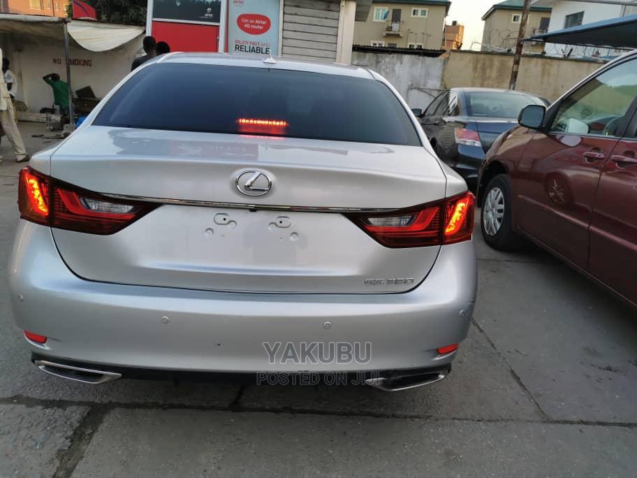 Lexus GS 2013 350 Silver