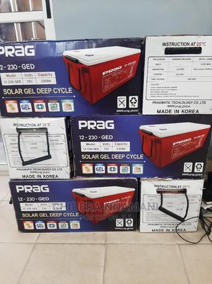 PRAG Battery 230ams 2yes Warranty | Solar Energy for sale in Lagos State, Lekki