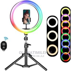 18 Inches Rainbow  Ring Light | Stage Lighting & Effects for sale in Ogun State, Ifo