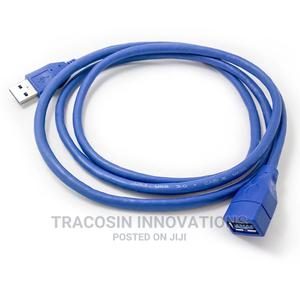 USB 3.0 Extension Cable Male to Female   Accessories & Supplies for Electronics for sale in Lagos State, Yaba