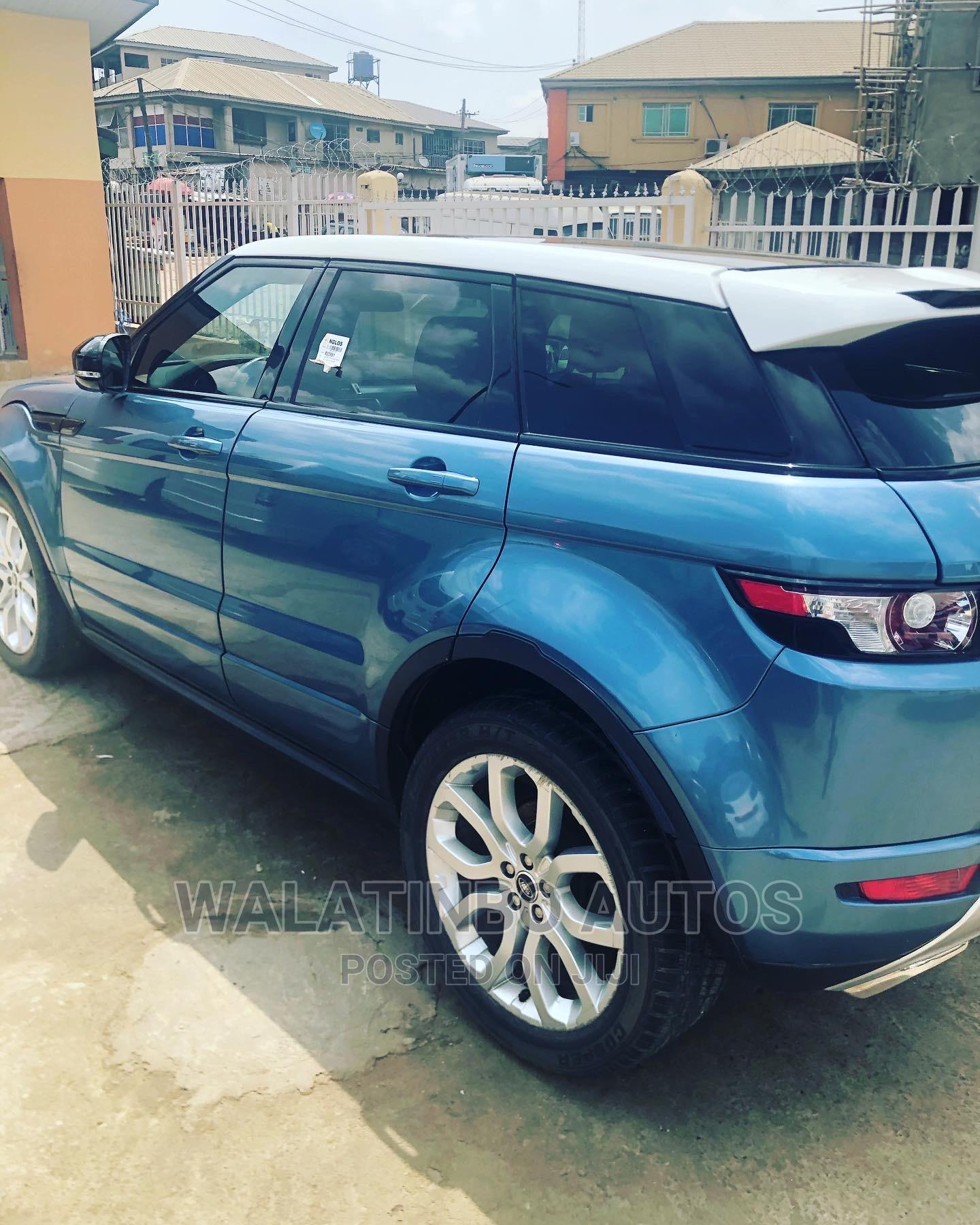 Land Rover Range Rover Evoque 2013 Blue | Cars for sale in Ikeja, Lagos State, Nigeria