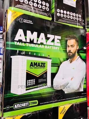 Amaze 220ah 12v Tubular Battery | Solar Energy for sale in Lagos State, Ojo